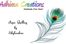 Quilling / Quilling, Paper crafts, Quilled gifts, DIY, Quilled earring