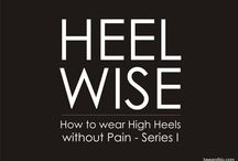 HEEL WISE: How to wear heels without pain / BEE & BLU (beeandblu.com): Indian Fashion & Lifesyle Blog shares tips on how to wear heels without pain. Visit for fashion tips, beauty tips, relationship tips, etc.