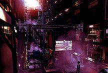 Cyberpunk Atmosphere / Cyberpunk Atmosphere, Cities and Landscapes