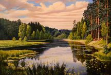 Obrazy příroda