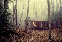 I must escape to the woods...be back later / My refuge