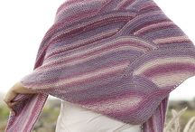 Knitting Shawls and scarves / Inspiration and ideas for knitting scarves and shawls