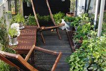 Balcon, terrasse