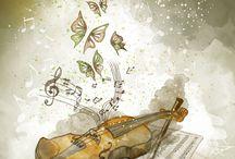 decoupage muzyka