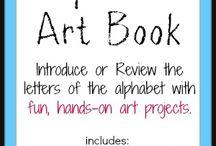 alphabet letter activities and art