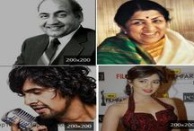 Singers (Punjabi, Hollywood and Bollywood)