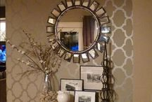 Front Entry Decorating / by Heather Morris