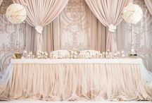 Sweetheart tables / by Boutiq Weddings & Events