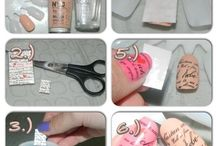Printed nail tips!  / Love it!