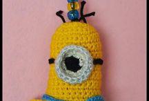 Hoodiegan crochet keyrings/chains