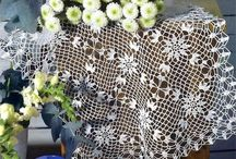 doilies by the dozen!!! / a collection of doilies..