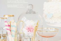 flores de papel y bordados en cintas y punto en cruz