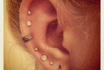 Piercings & tattoos / by Abigail Roe
