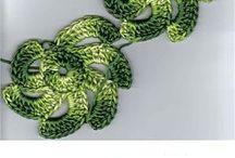 Irish Crochet Pillow Motif