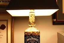 Bottle lamps - DIY