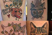 Tatuajes a color. / #Arte #Tattoo