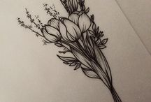 tulip tattoo familia