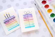 watercolor cards