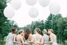 inspiration - wedding party portraits / Shots I love of the wedding party - formal, fun and everything in between.