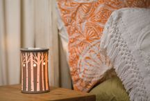 Scentsy Style in the Home / Scentsy Warmers displayed in home settings. Scentsy Home Style