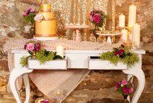 Hochzeit in pink & gold