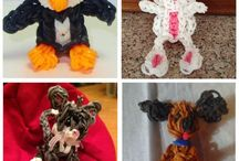 Rainbow loom / Cute and crazy cool creations