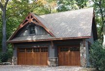 Craftsman Garage Plans / Craftsman Style Detached Garage Plans