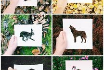 {art lessons} outdoor/nature