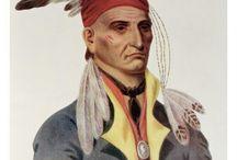 Chickamauga Cherokee Family