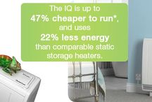 IQ Storage Heaters / The culmination of 3 years R&D is the Dimplex IQ Heating System. Our IQ is up to 47% cheaper to run and uses 22% less energy than comparable static storage heaters. Why is it so good?