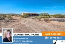 """SOLD! Views Will Blow You Away! Great Corner Lot and East Access Home / 34812 W Caldwell St., Arlington, AZ 85322 