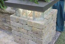 Briques verre