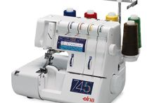 745 / THE POWER OF ATTRACTION Overlock machines do more than just finish seams. The Elna 745 five-thread overlock has been designed to be easy to use and fast to thread.