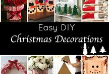 Christmas Holiday Crafts, DIY and more / Crafts, DIY and food specific to the Christmas Holiday.