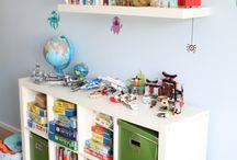 Ordnungsliebe Kinderzimmer