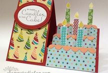 Side stepfold birthday card