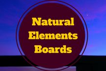 Natural Element Boards> / Boards full of inspiration found in nature