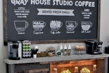 ideas for coffee station