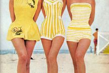 Inspired By: Vintage Bathing Beauties / by Glamorous Housewife