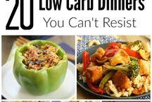 Diet.  Low Carb