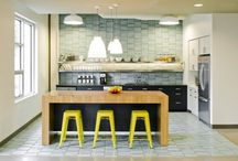 Kitchens & Bathrooms / Shiny surfaces