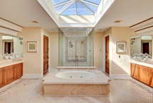 Luxury Bath / Featuring unique and diverse bathroom ideas from properties represented by Hilton & Hyland