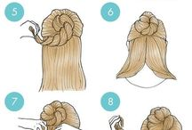 Hair teaching