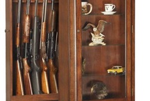 rifle cabinets