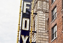 Classic Fronts & Facades / Classic city neon signs, fronts, and facades.