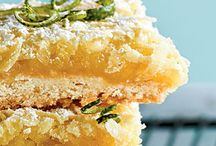 Food: ___ Bars and Squares