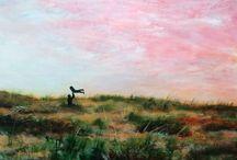 Schilderijen van Van Hoorn / Acryl schilderijen