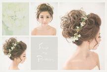 清新盤髮_Bun hairstyle / #Weddings #Weddingsphotography #Hairstyle http://molding.wswed.com/molding_home/hair.html