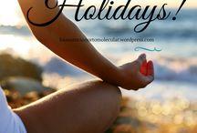 Happy Summer / Porque las vacaciones y el verano son para relajarse y disfrutar!