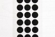 Washi Dots / Washi Dots aus Reispapier. Diese Klebepunkte lassen sich rückstandslos wieder entfernen. Auf die Deko fertig los! What to do with washidots?